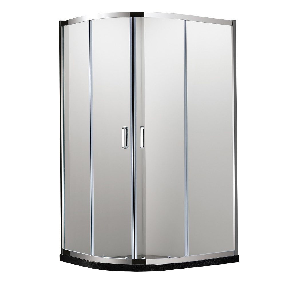NTH: Quadrant Shower Cubicle & Tray: 90x90x200cm #MY-4038BK 1