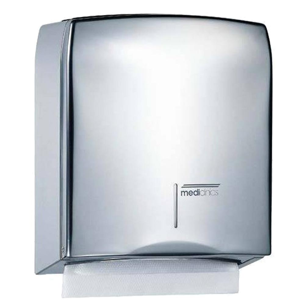Mediclinics: Paper Towel Dispenser: Bright Steel #DT0106C 1