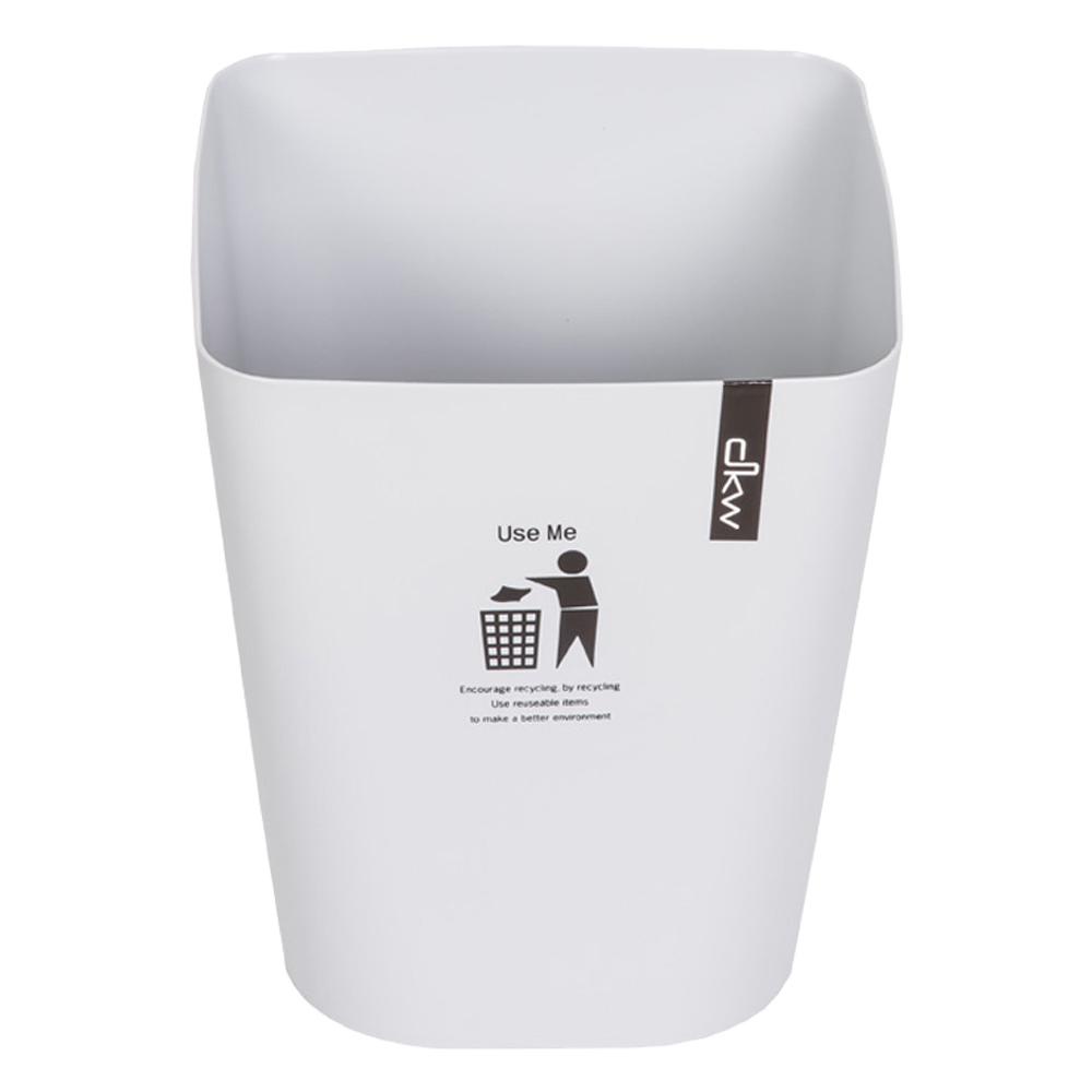 DKW: Square Printed Waste Bin; 5