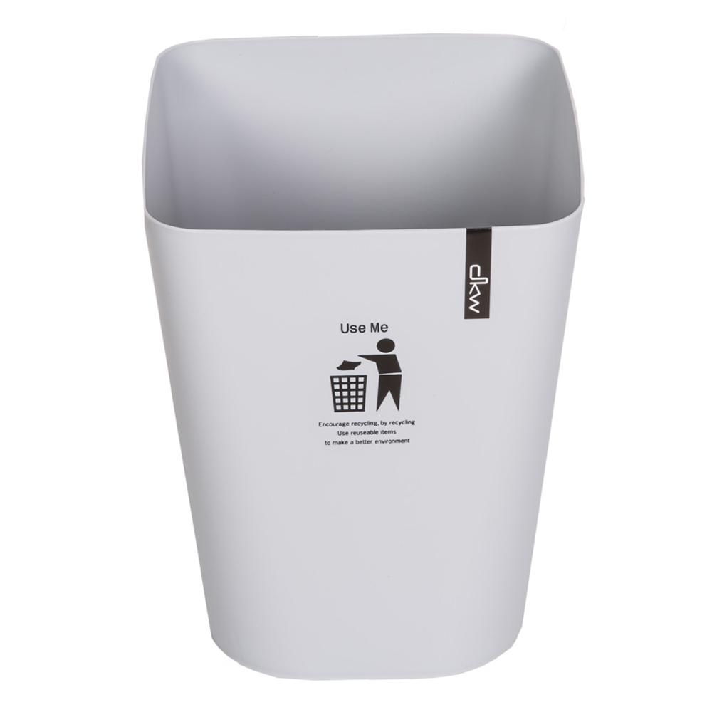 DKW: Square Printed Waste Bin; 11Lts #HH-224P 1