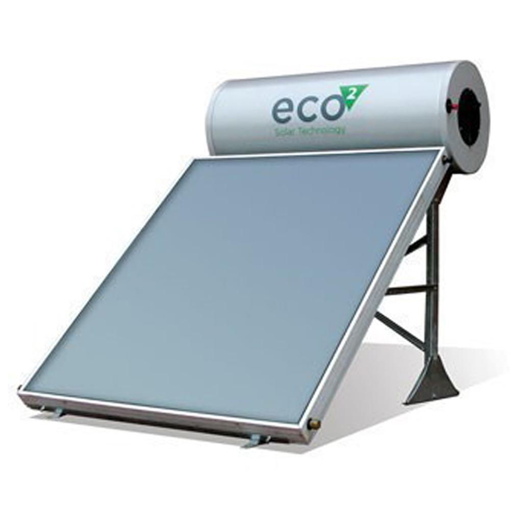 Calpak: ECO2 : Solar Water Heating System; 160/2ES OC RF (Sloping Roof) 1