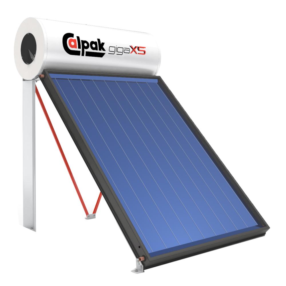 Calpak: Solar Water Heater; GIGA XS 200/2, 1S OC(Sloping Roof):MERF-1(125-160) 1