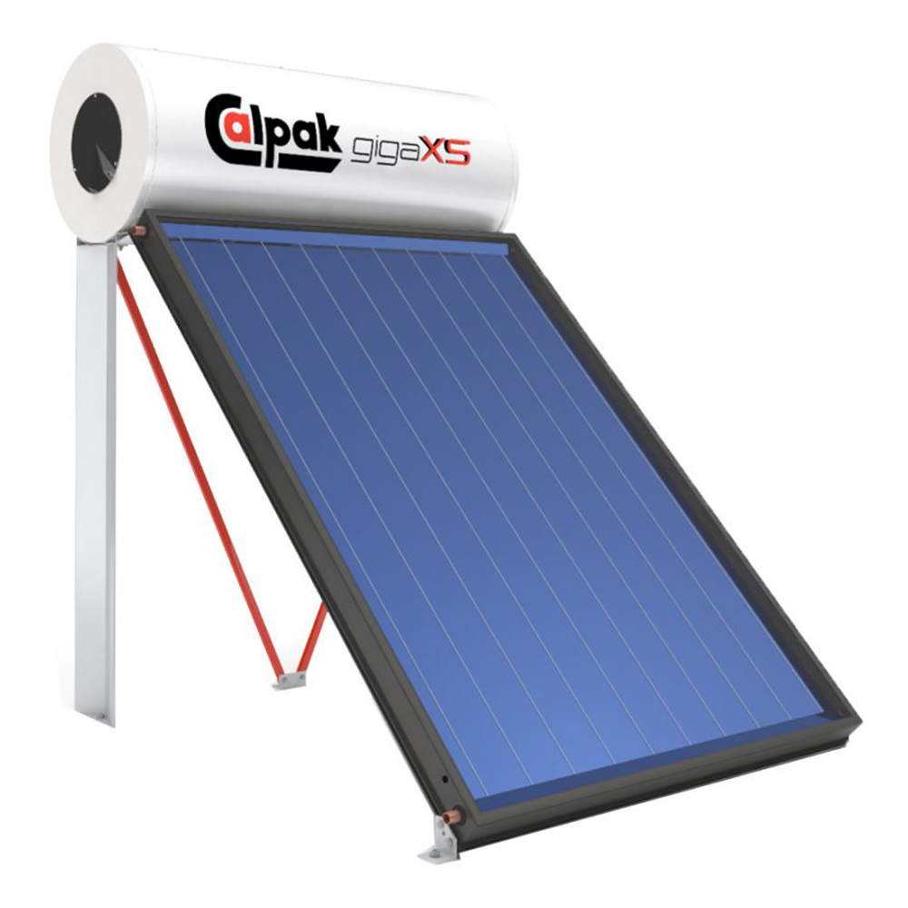 Calpak: Solar Water Heater; GIGA XS 300/3H, OC (Sloping Roof) 1