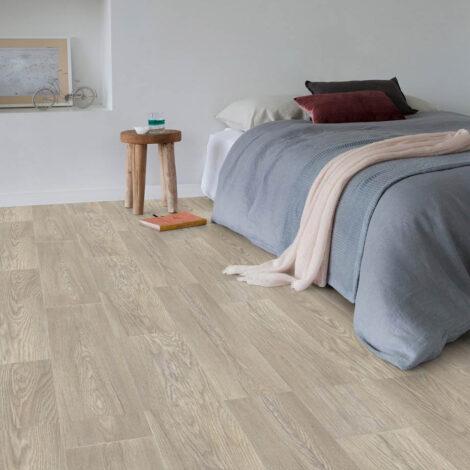 Gerflor: Texline Grain Vinyl Flooring: 4 Meters (Width) Col. Castle Blond 1802