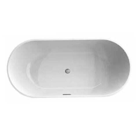Trento: Freestanding Bath Tub: (168×80)cm, White 1