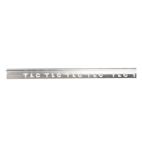 Hero: Aluminium Tile L-Trim: Silver Matt 10mmx3mtr