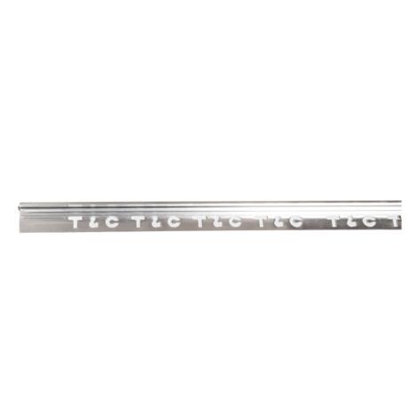 Hero: Aluminium Tile L-Trim: Silver Polish 12mmx3mtr