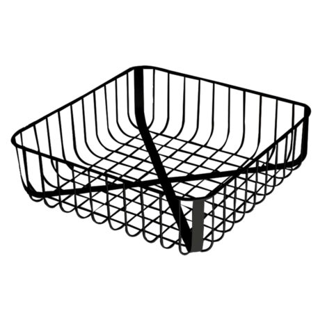 Iron Fruit Basket; (25.5×25
