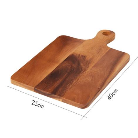 Vasso Acacia Wood Cutting Board; (40x25)cm, Natural