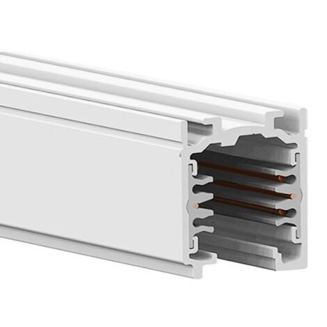 Global-Nordic Aluminium: XTS-4200-3 Lighting Track, 2 Meter Length, White 1