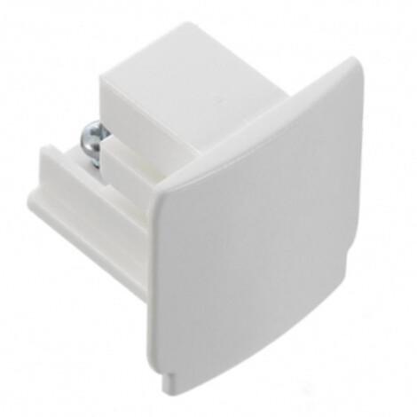 Global-Nordic Aluminium: XTS-41-3 End Cap For Lighting, White 1