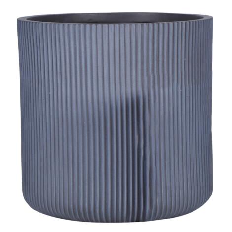 Fibre Clay Pot: Large (45x45x45)cm, Grey 1