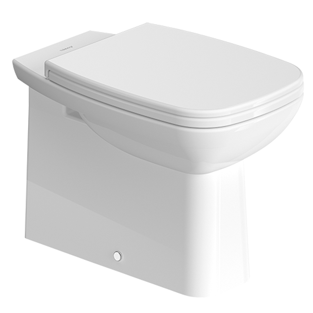D-Code: WC Pan, Back To Wall: White 1