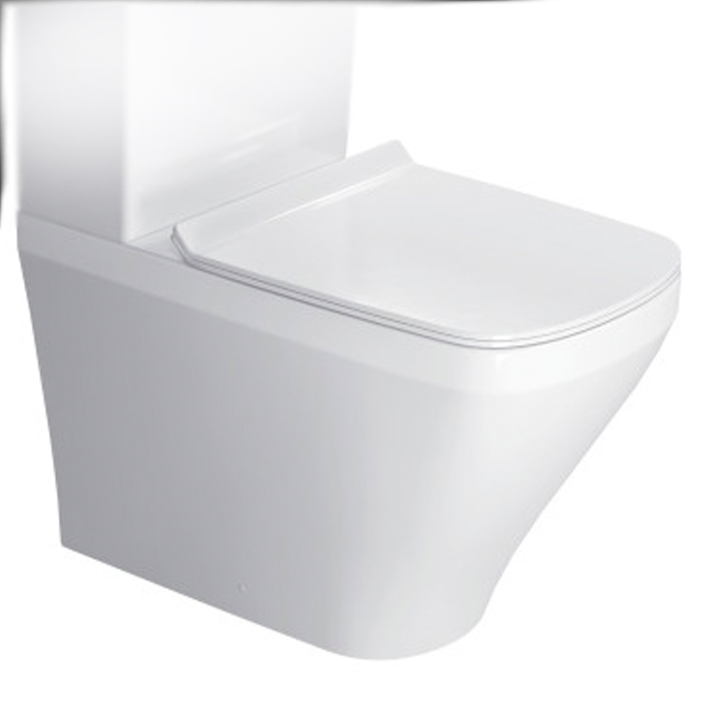 DuraStyle: WC Pan: White , Close Coupled 1