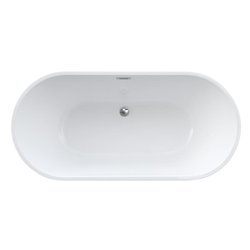 Eko N1: Freestanding Bath Tub: (170x80)cm, White