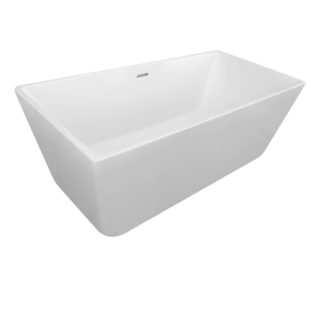 Eko N5: Freestanding Bath Tub: (170×80)cm, White 1
