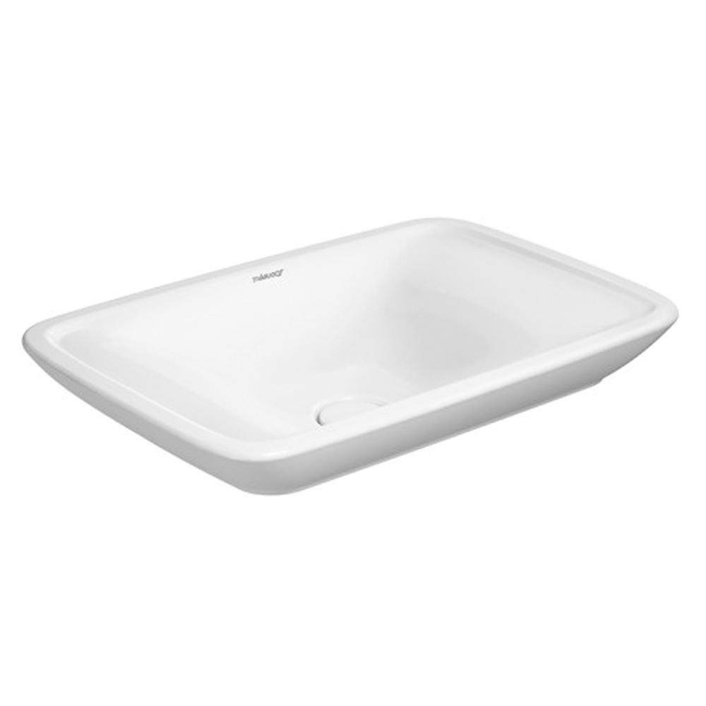 Foster: Over Counter Basin: 50cm, White 1