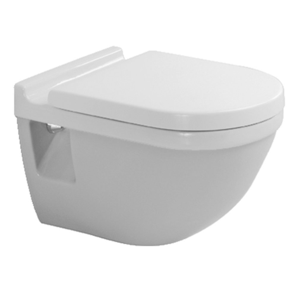 Starck 3: WC Pan: Wall Hung, White 1