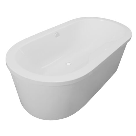Tonga: Bath Panel: (180×90)cm, White 1