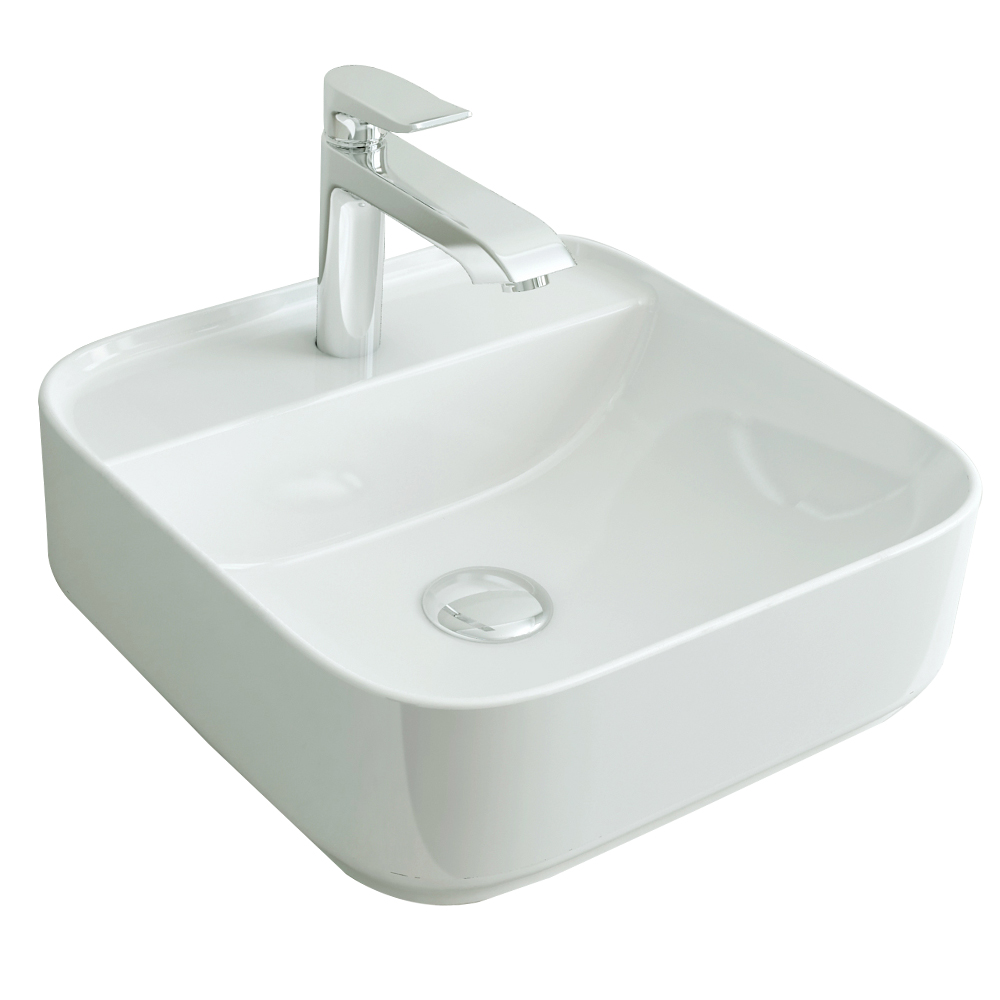 Tapis: Counter Top Basin, White 1
