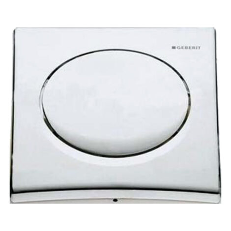 Geberit: Pneumat Urinal Finish Set: Chrome Plated 1