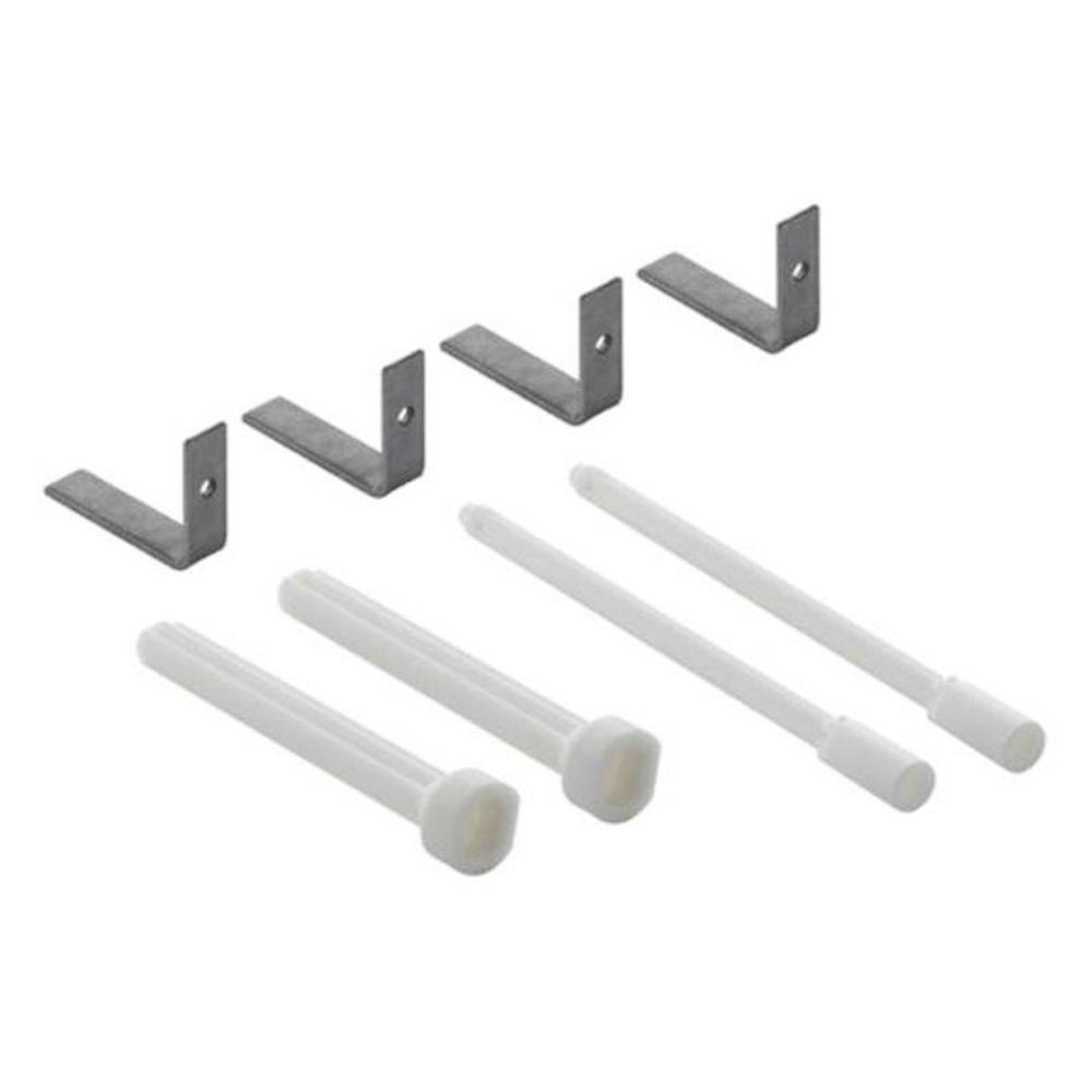 Geberit: Extension Set For Actuator Plate, Delta 1