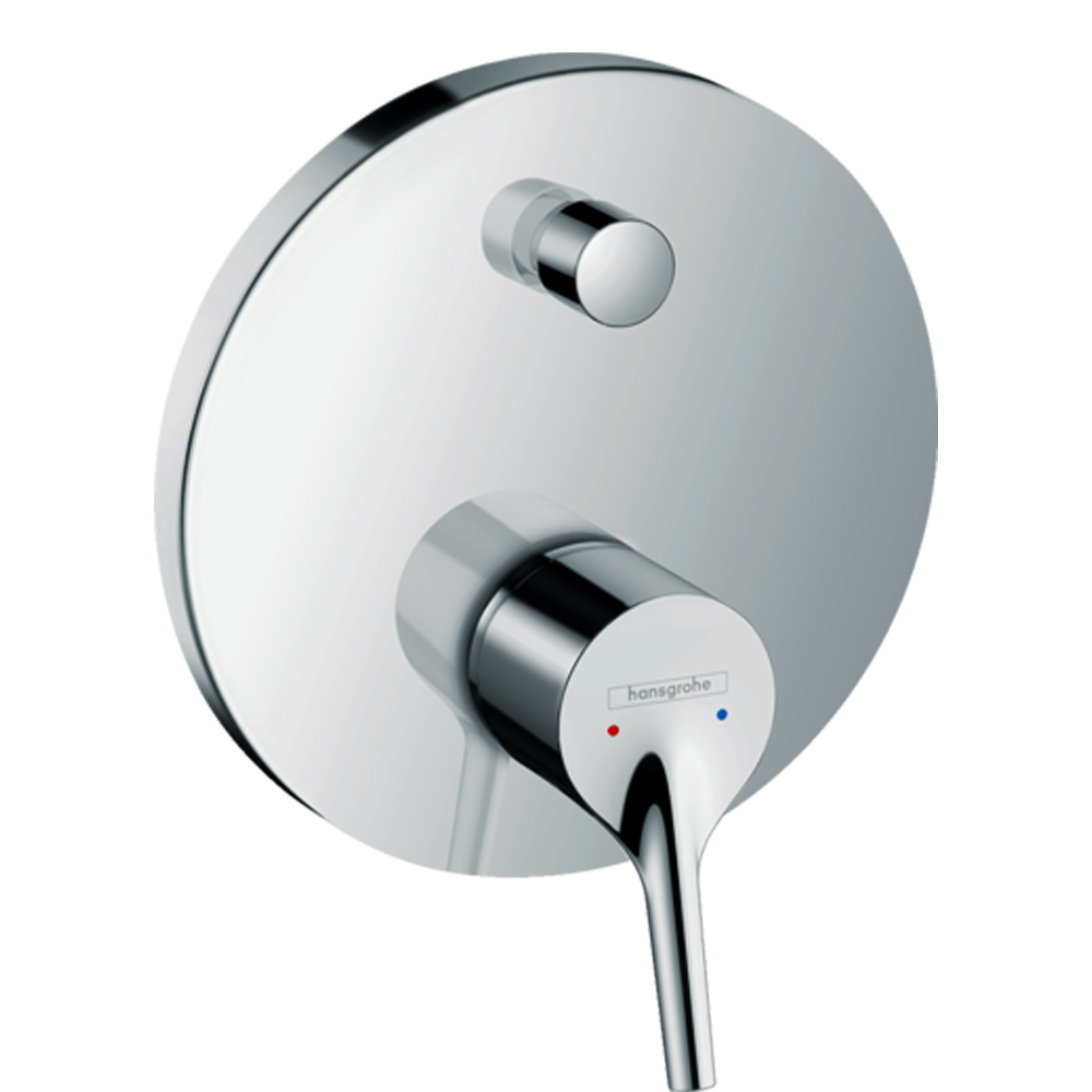 Talis: Concealed 4-Way, Finish Set, Chrome Plated 1