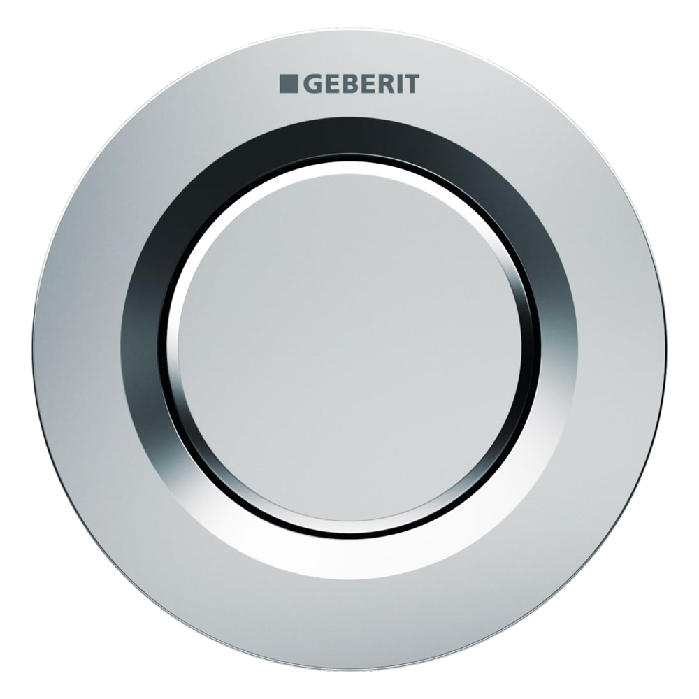 Geberit: Single Flush Pneumatic Button For Concealed Cistern 1