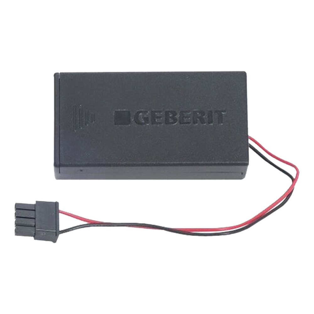 Geberit: Battery Housing For Urinal Flush Control With Electronic Flush Actuation 1