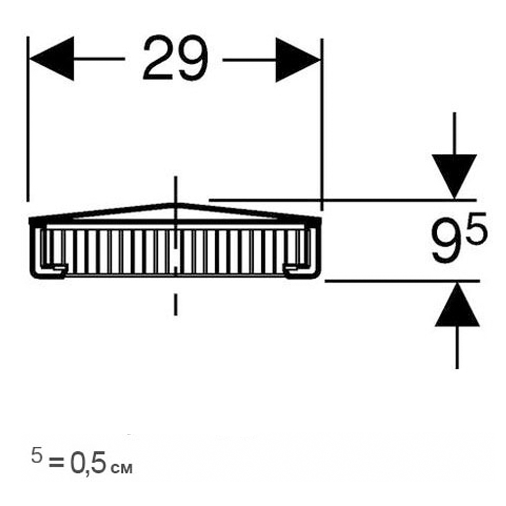 Pluvia: Roof Outlet Grating