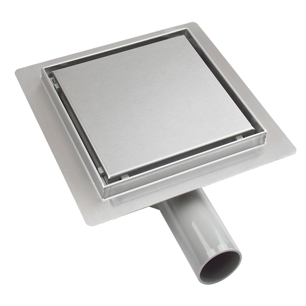 Tapis: Stainless Steel Square Reversible/Inlay Shower Drain, (15×15)cm; GTH01 1