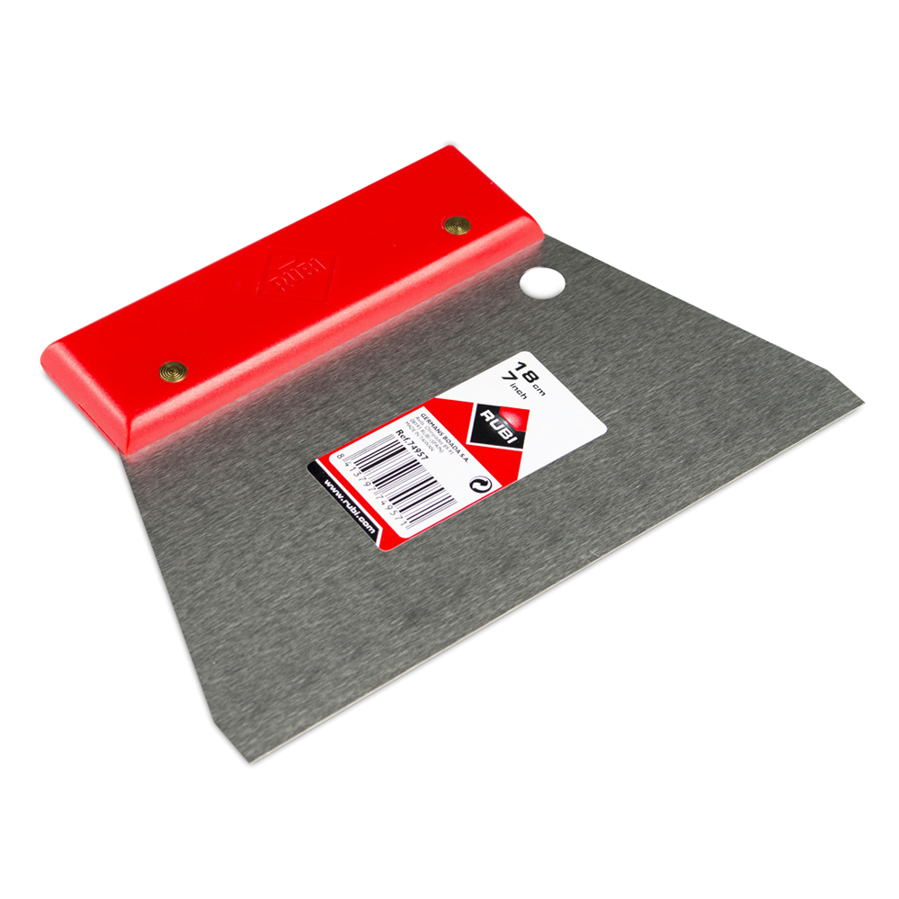 Rubi : Flat Steel Spatula: 7inch,18cm