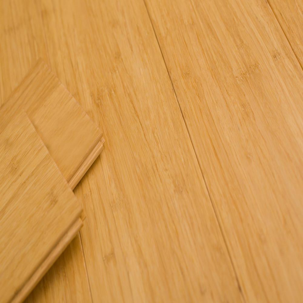 Strand Woven Bamboo Flooring Col: Natural (153×13.2×1