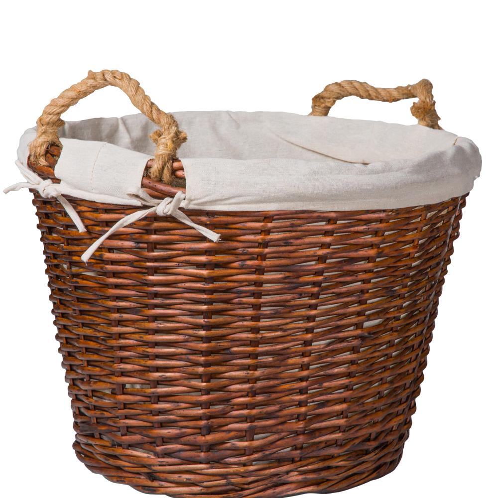 Domus: Round Willow Basket:1pc Set: Large