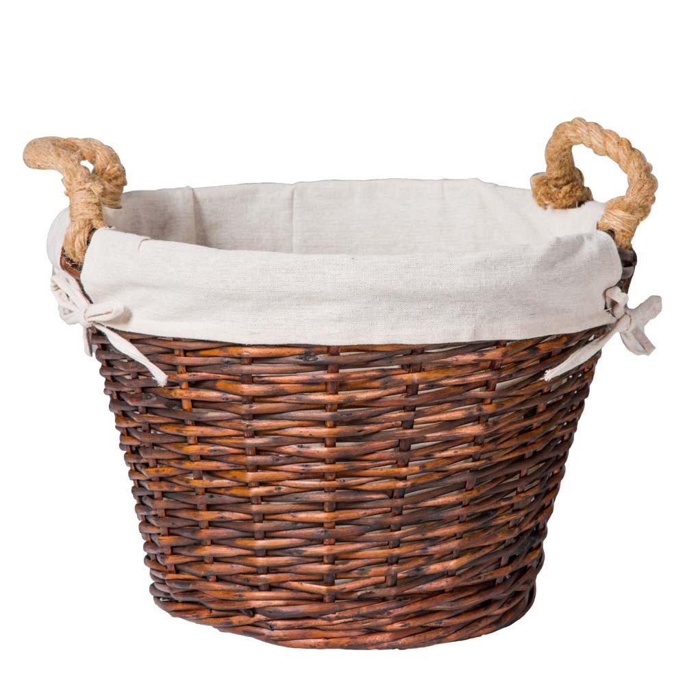 Domus: Round Willow Basket:1pc Set: Small 1