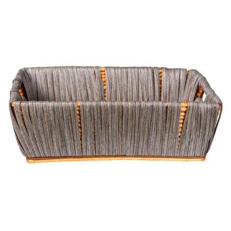 Domus: Rectangle Willow Basket: (47x36x16)cm: Large 1
