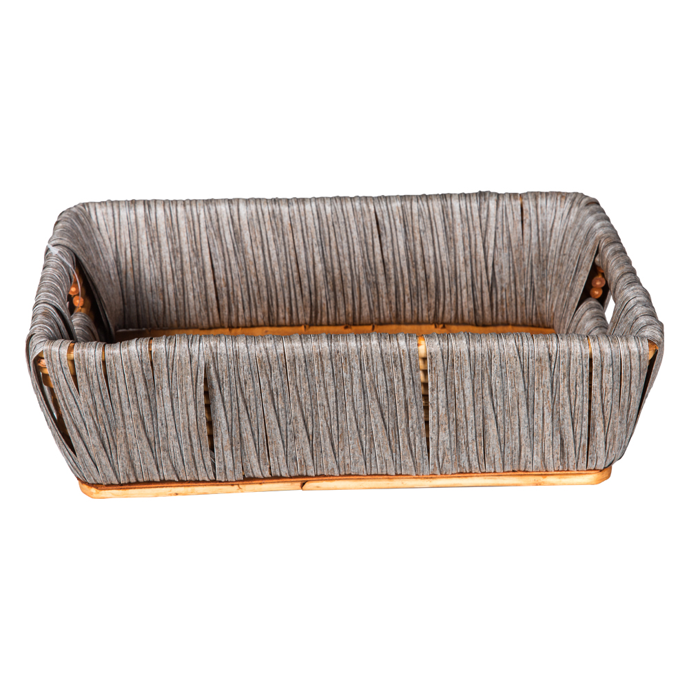 Domus: Rectangle Willow Basket: (34x24x10)cm: Small 1