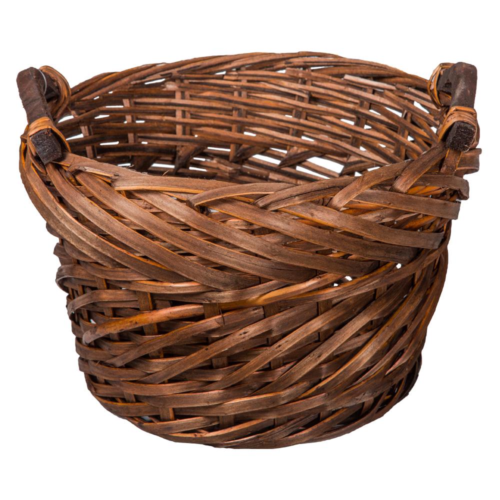 Domus: Round Willow Basket: (28×19)cm: Small 1