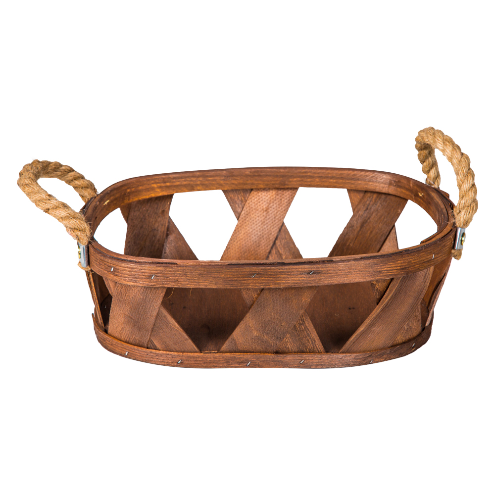 Domus: Oval Willow Basket: (32×22