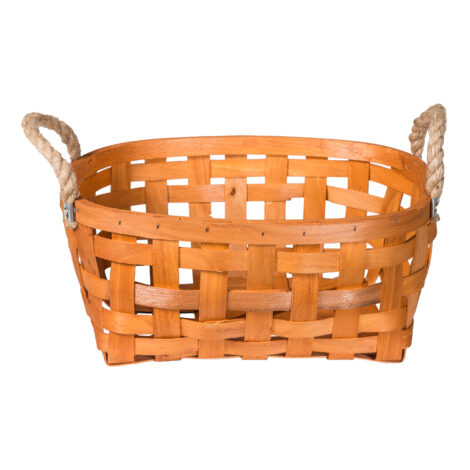 Domus: Oval Willow Basket: (37.5×27