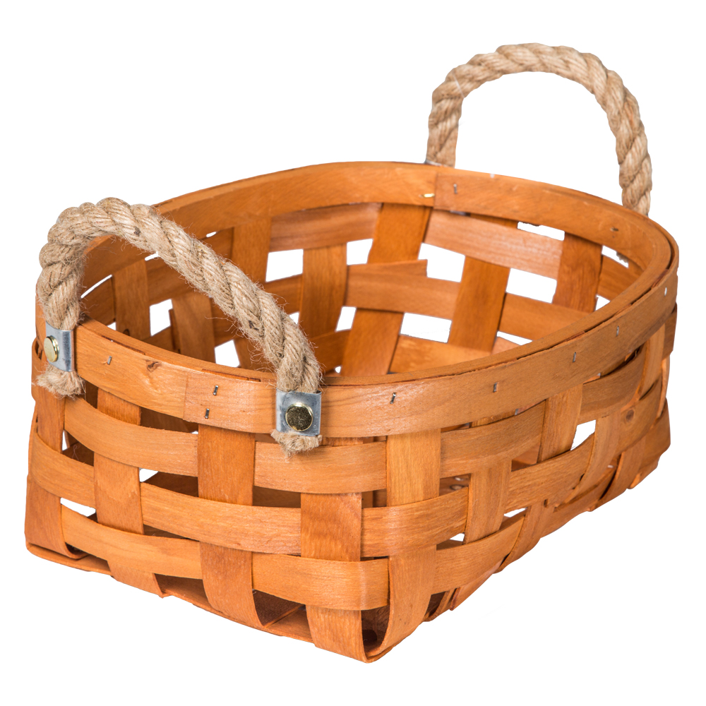 Domus: Oval Willow Basket: (32x22.5x13)cm: Medium