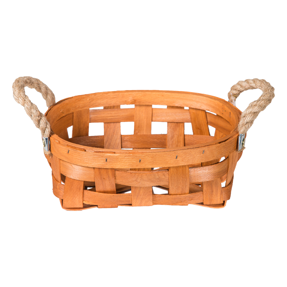 Domus: Oval Willow Basket: (27x18x10)cm: Small 1