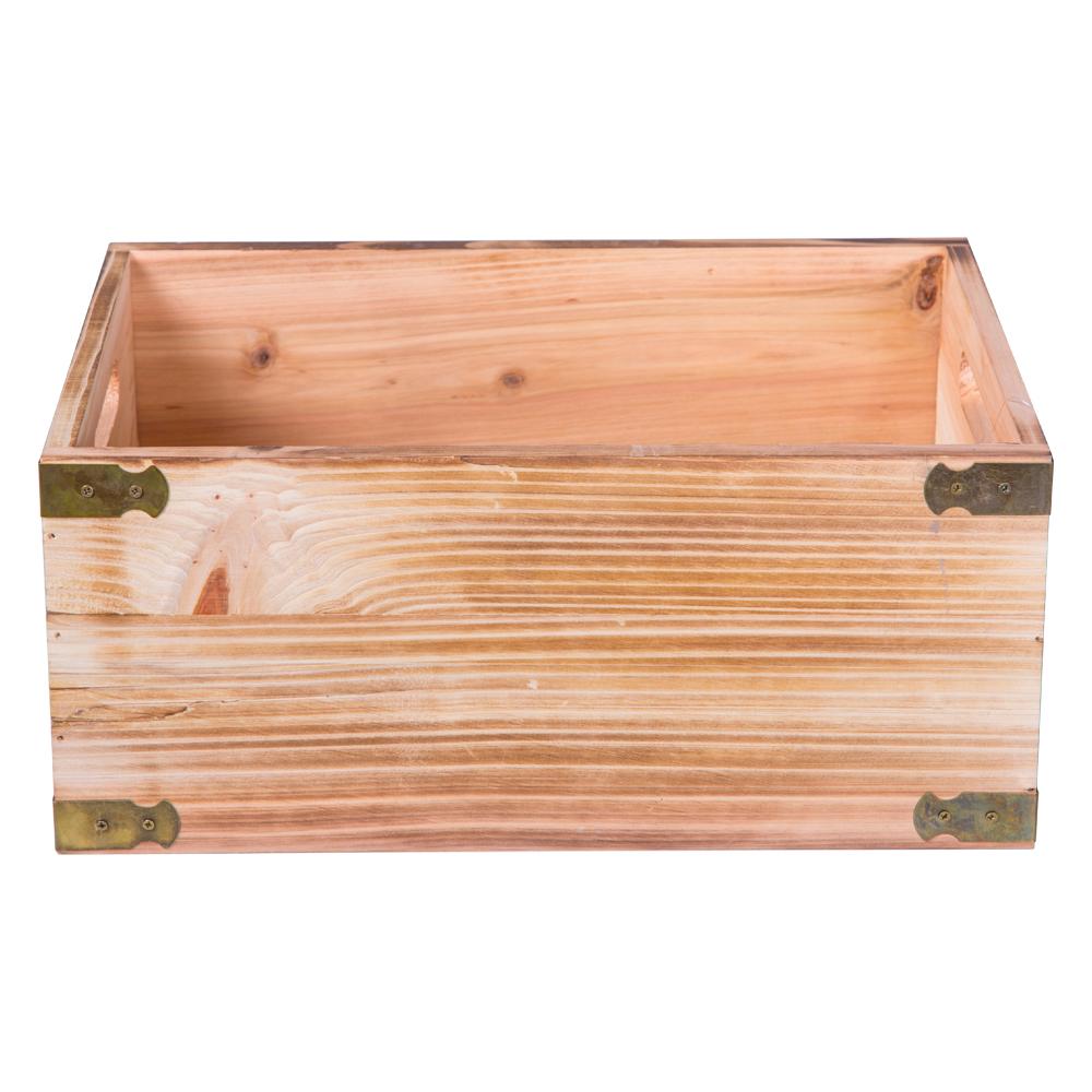 Domus: Rectangle Willow Basket: (32x22x14)cm: Medium 1