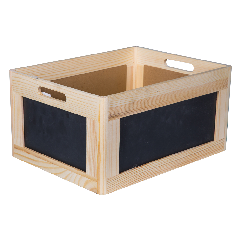 Domus: Rectangle Willow Basket: (40x30x20)cm: Large