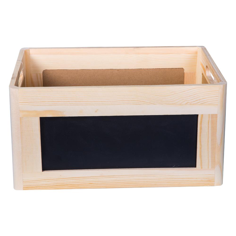 Domus: Rectangle Willow Basket: (35x25x18)cm: Medium 1