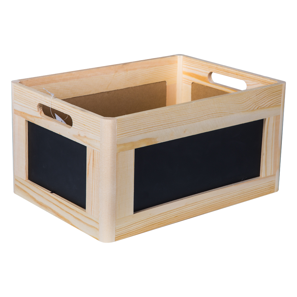 Domus: Rectangle Willow Basket: (35x25x18)cm: Medium