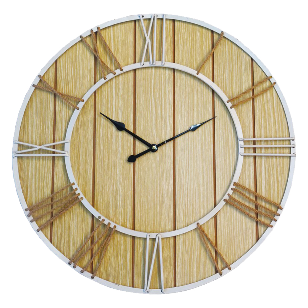Round Wall Clock: Diameter, 60cm 1