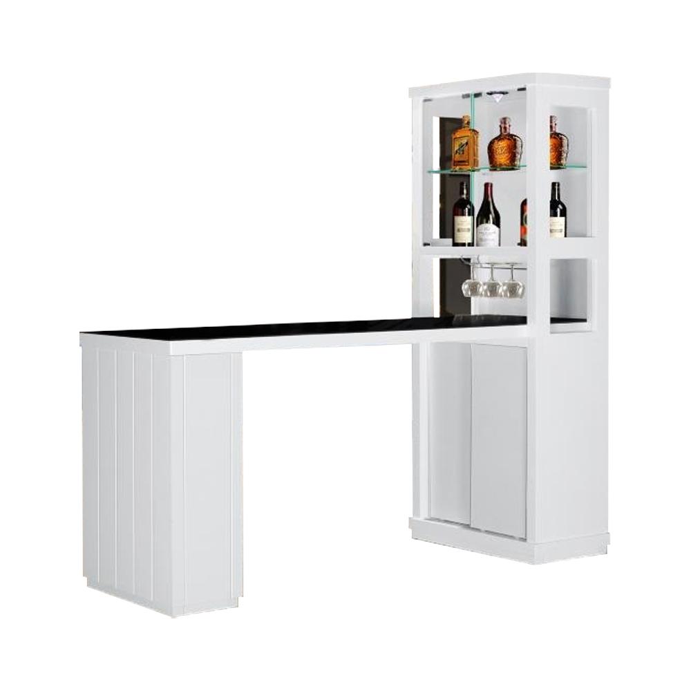 Bar Counter; (60x169x200)cm, White 1