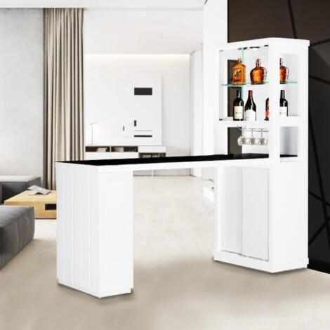 Bar Counter; (60x169x200)cm, White