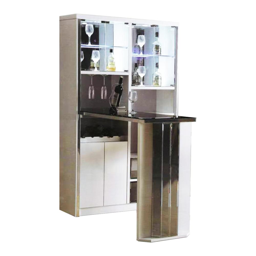 Bar Counter; (180x112x190)cm, White 1